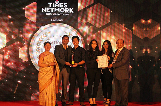 Sanghvi Parsssva Group of Companies is being awarded as the Best CSR Initiative Of The Year By A Real Estate Firm at the National Awards for the Marketing Excellence organized by Times Network on 5th July 2018, Taj Lands End, Mumbai