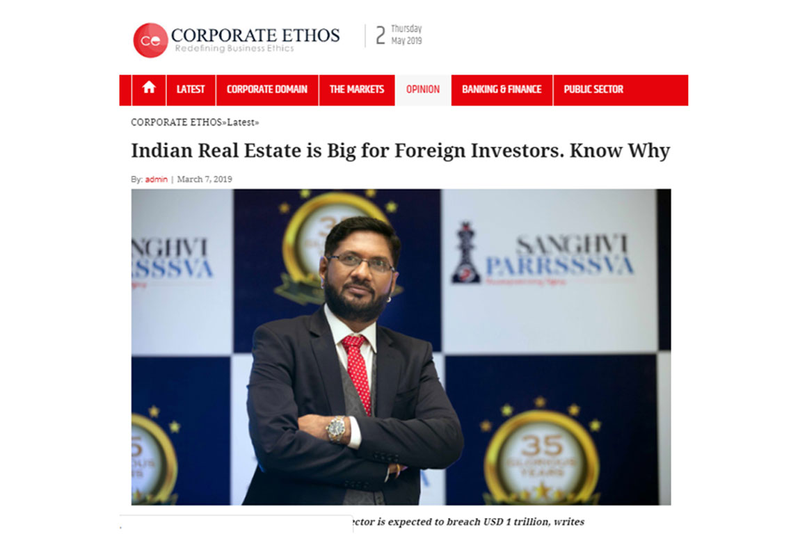 Why Indian real estate is big for foreign investors